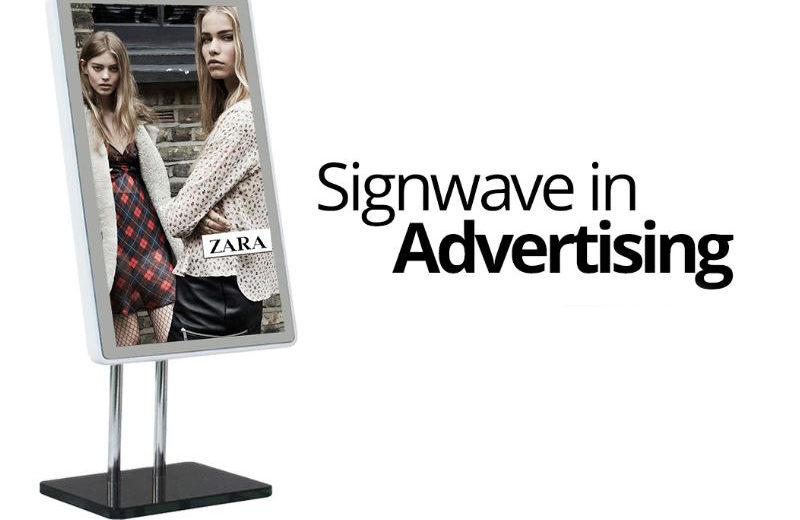 Zara Signange, Signwave, digital signage of GlobeSoft Qatar
