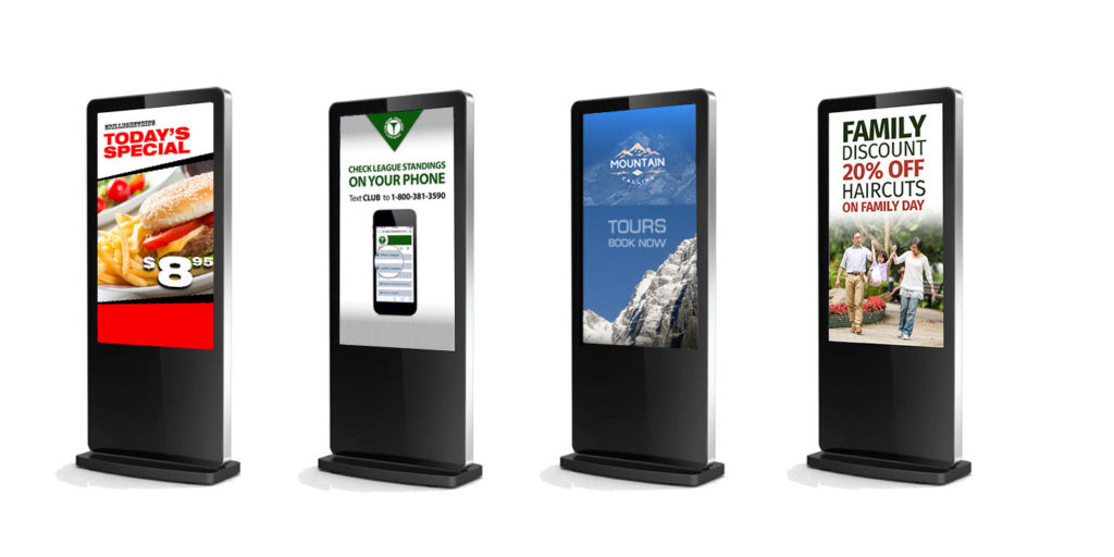 Digital Signage Stand of GlobeSoft Qatar